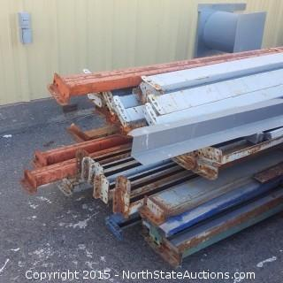 Mixed Lot of Pallet Racking
