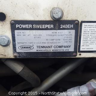 Tennant Power Sweeper