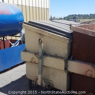 4 Garbage Dumpsters
