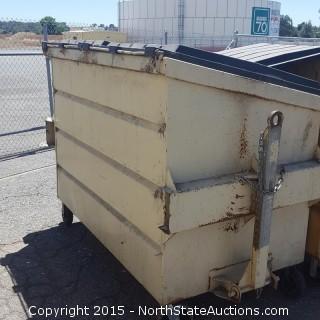 2 Garbage Dumpsters