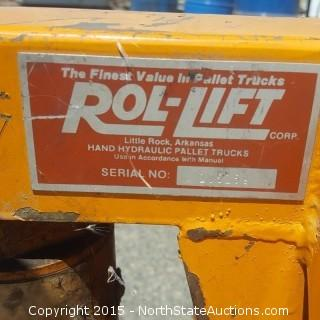 Pallet Jack Rol Lift