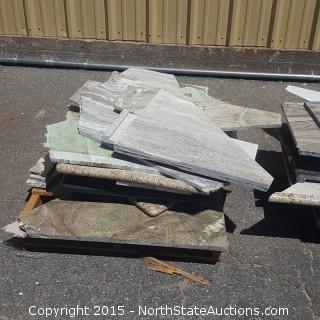 Mixed Lot of Granit Counter Tops
