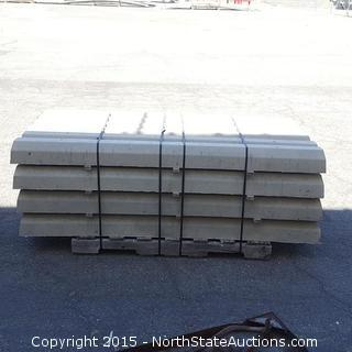 24 Concreat Parking Stones