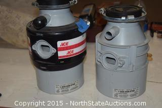 2 Ace Food Waste Disposers