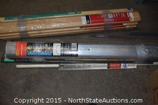 Lot of Metal and Wood Threshold