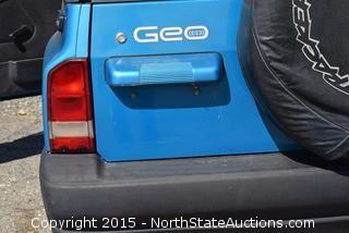 2000 GEO Tracker 4x4