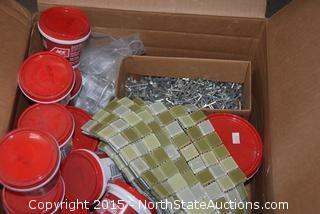 Lot of Spackling Compound