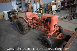 Country Squire Garden Tractor and Implaments
