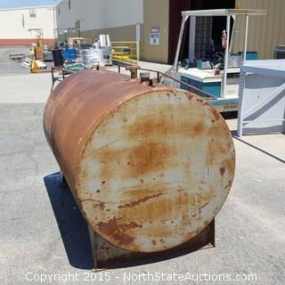 250Gallon Fuel Tank