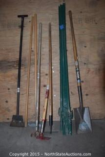 Shovels, Hoes, and T Posts