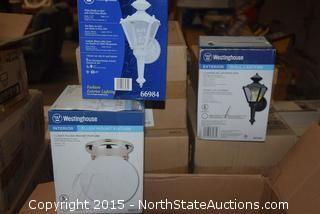 Mixed Lot of Westinghouse Light Fixtures