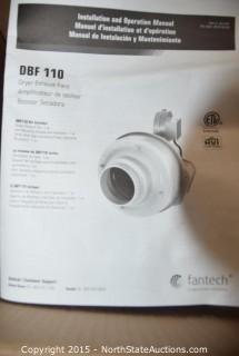 Dryer Exhaust Fan