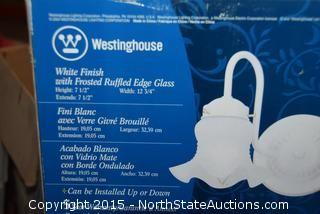 2 Westinghouse Light Fixtures