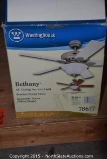 """Westinghouse 52"""" Ceiling Fan"""