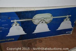 Westinghouse 3 Light Fixtures