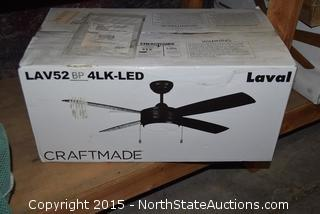 LAV52 BP 4LK-LED Ceiling Fan
