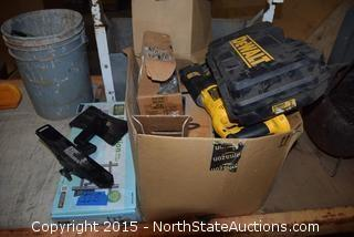 Mixed Lot of Tools and Hardware