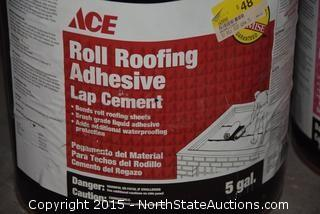 Floor Cleaner, Roll Roofing Adhesive, and Premium Aluminum Roof Coating