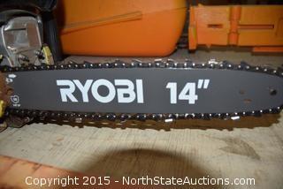 """Ryobi 14"""" Chain Saw"""