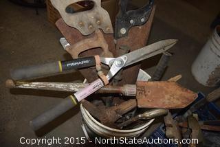 Mixed Lot of Hand Tools