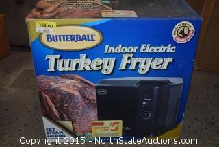Indoor Electric Turkey Fryer