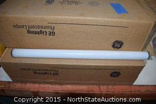 Lot of GE Light Bulbs