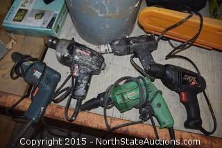 Mixed Lot of Drill Drivers