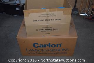 2 Boxes of Carlon Ceiling Boxes