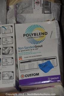 Mixed Pallet of Polyblend, Fast Set 20 Lite, and Fast Set 5 Lite