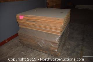 Pallet of Particleboard