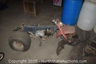 2 Three Wheelers For Parts