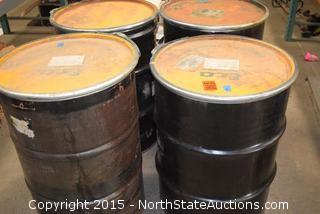 4 5 Gallon Drums