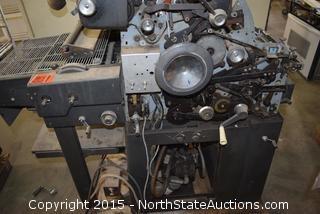 Abdick Offset Machine