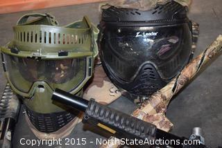 Lot of Paintball Gear
