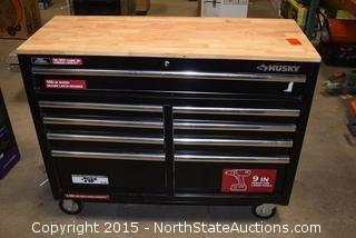 Husky 9 Drawer Rolling Tool Box