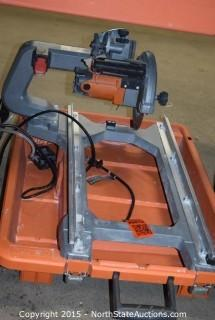 Ridged Tile Saw