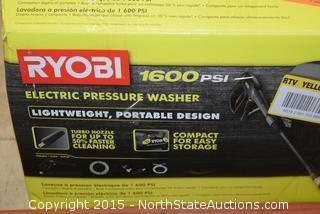 Ryobi1600PSI Electric Pressure Washer