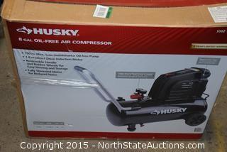 Husky 8-Gallon Air Compressor