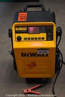 DeWalt Battery Charger and Jump Starter