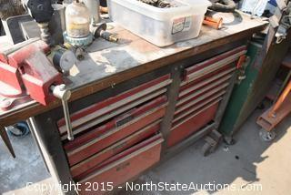 Rolling Tool Box/Work Bench