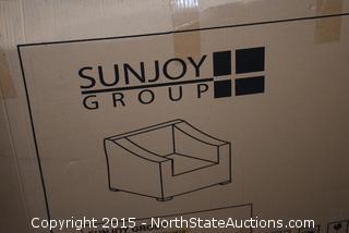 Sunjoy Group Outdoor Arm Chair