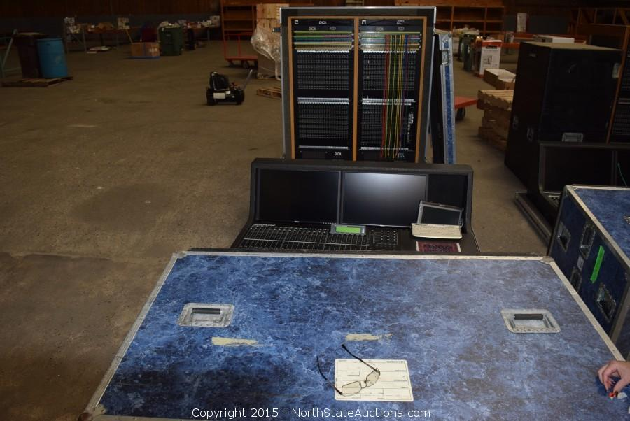 Gambel DCX 60 console system,  Equipment Bankruptcy Auction