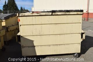 3 Commercial Garage Cans