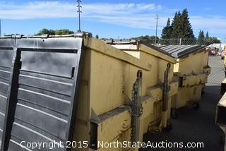Lot of Commercial Garage Cans