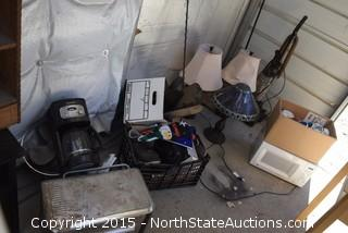 Mixed Lot of Home Appliances and Home Decor