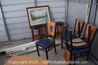 Mixed Lot of Furniture and Decor