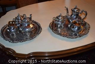 Reed Barton Silver Plated Tea Set