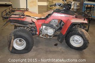 Honda 250 Four Wheeler