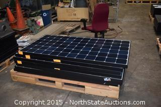 Lot of Sunpower Solar Panels