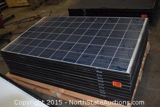 Lot of Q CELLS Solar Panels